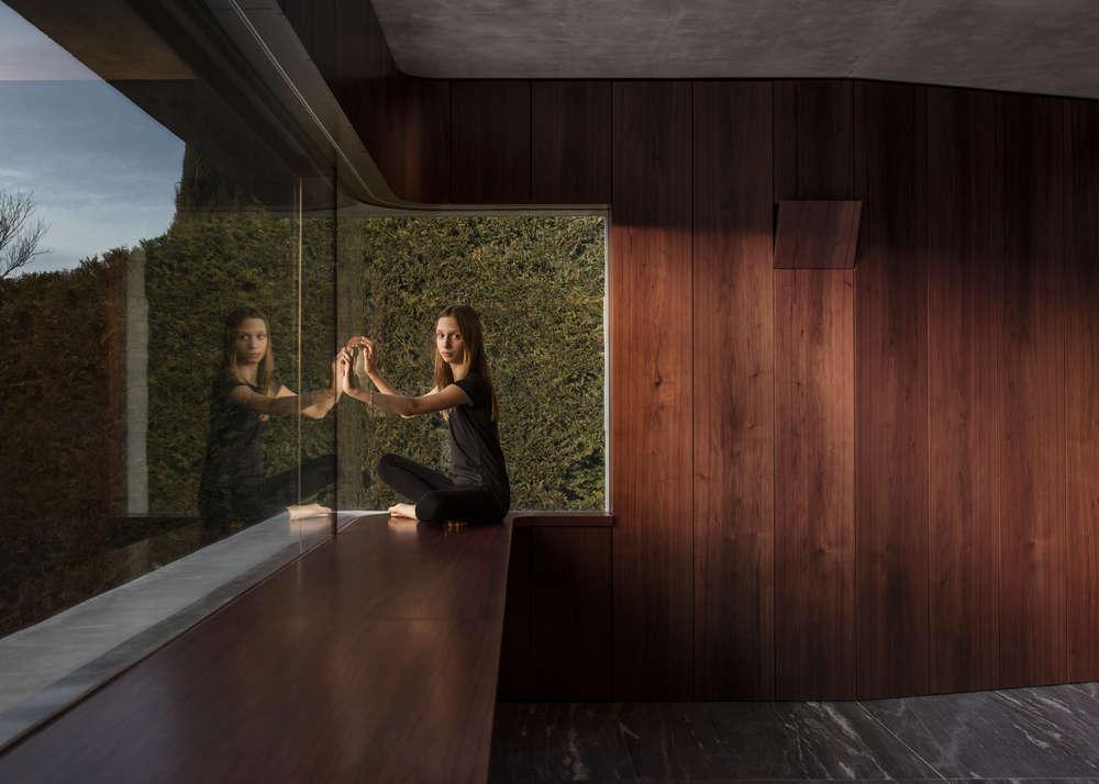 Concrete House Extension