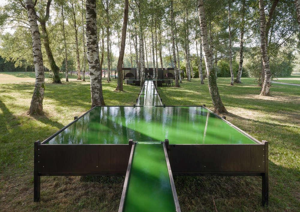 Spirulina Fountain